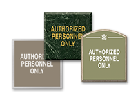 authorized personnel signs