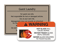 general facility signs